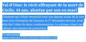 Domont : le preneur d'otage et sa femme retrouvés morts